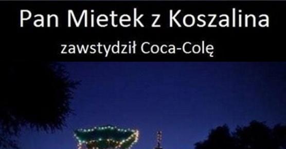 Zawstydził Coca Cole