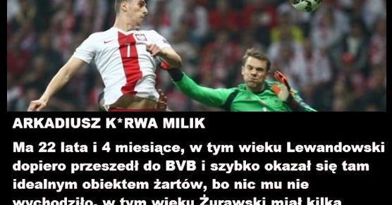 Arek Milik... I po co te śmieszki?