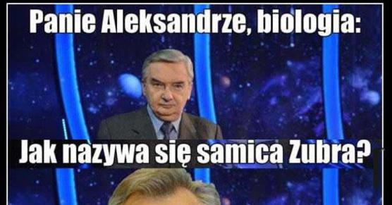Panie Aleksandrze