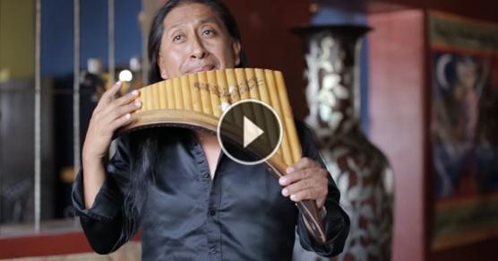 Zachwyca Cibie oryginalna wersja Hallelujah? Posłuchaj tego utworu w wykonaniu mistrza fletni pana, Edgara Muenala!