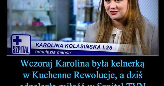 Wczoraj Karolina była kelnerką w Kuchenne Rewolucje, a dziś już...