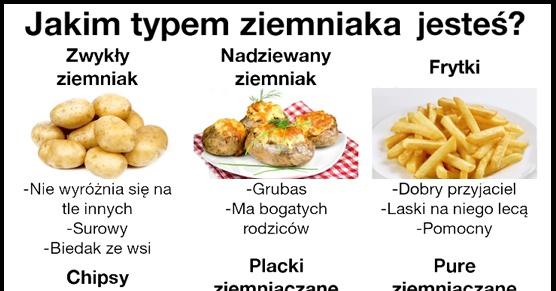 Jakim typem ziemniaka jesteś?