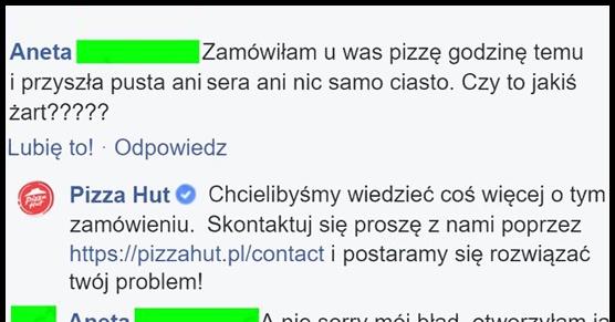 Pizza bez ...niczego!?