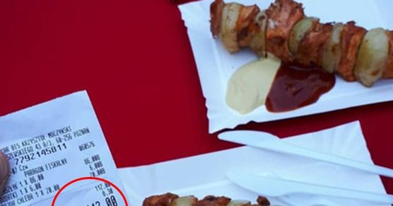 Szaszłyk w cenie połowy świni, takie rzeczy tylko na jarmarku we Wrocławiu