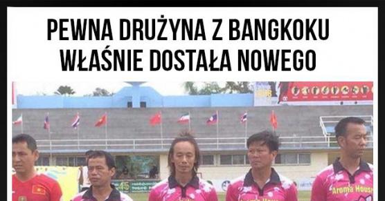 Pewna drużyna z Bangkoku zyskała nowego sponsora