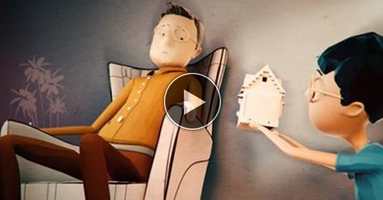 Piękna animacja o relacji dzieci z rodzicami