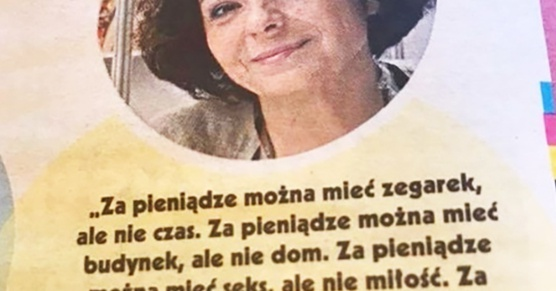 Mądre słowa od Katarzyny Grocholi