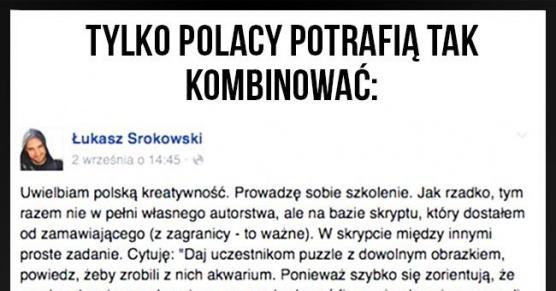 Tylko Polacy potrafią tak kombinować