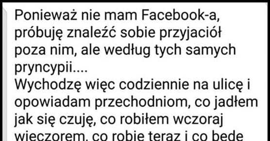 Życie bez fejsbuka