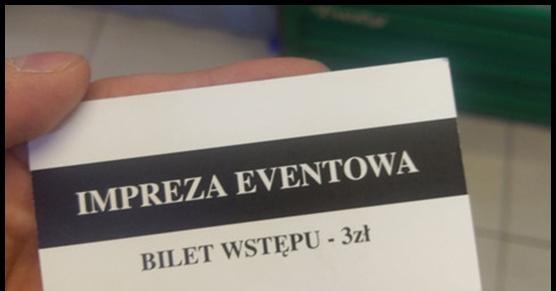 W jednym z sklepów monopolowych w Olsztynie przy wejściu bramkarz pyta czy przyszedłeś po alkohol. Jeśli tak, to...