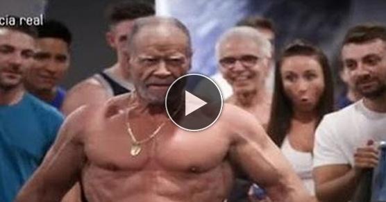 72-letni mistrz weteranów w kulturystyce i jego ekipa emerytów mistrzowsko trollują młodzież na siłowni