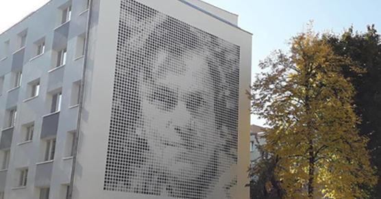 Na os. Armii Krajowej w Poznaniu oficjalnie dzisiaj odsłonięto mural z wizerunkiem Krystyny Feldman - znakomitej aktorki, znanej m.in. z roli w filmie....