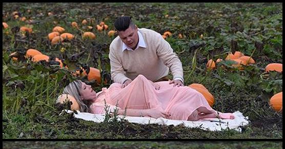Niezwykły zwrot wydarzeń podczas ciążowej sesji zdjęciowej pewnej pary