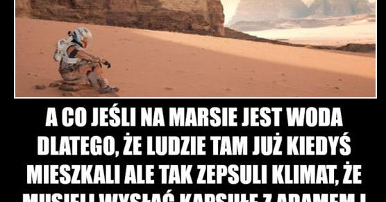 Marsjanie?