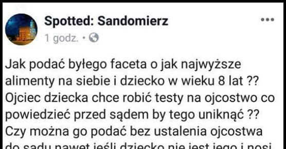 Ktoś w Sandomierzu ma przewalone