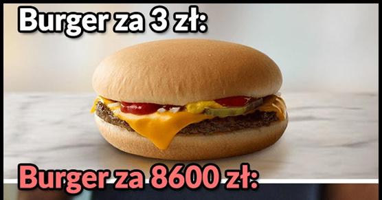 Najdroższy burger na świecie