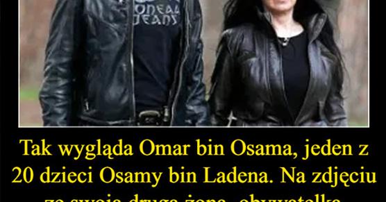 Tak wygląda Omar bin Osama, jeden z 20 dzieci Osamy bin Ladena