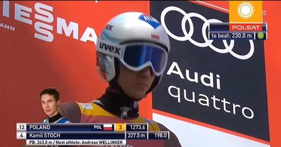 Gdyby skoki narciarskie były transmitowane w telewizji Polsat