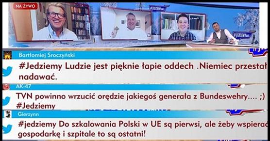 Poranne paski w TVP Info. To jest po prostu mega obrzydliwe...