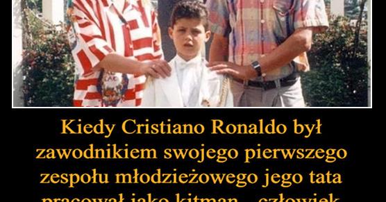 Przypowieść o prawdziwym i pracowitym piłkarzu Kiedy Cristiano Ronaldo był zawodnikiem swojego pierwszego zespołu młodzieżowego jego tata pracował jako...