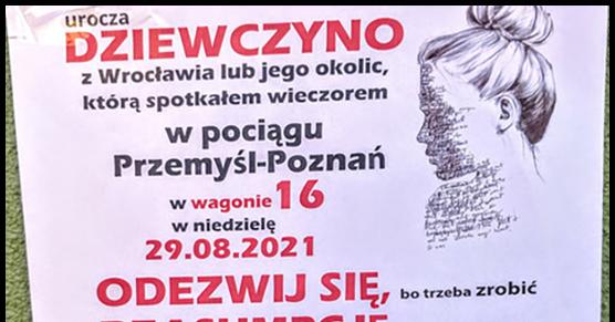 Może ktoś pomoże? Ludzie z Wrocławia i okolic, może ktoś zna dziewczynę z...