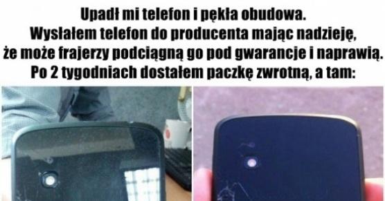 Naprawa telefonu