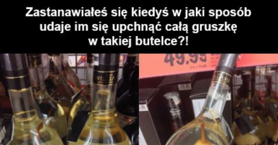 Gruszka w butelce