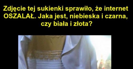 Jaki kolor ma sukienka na zdjęciu