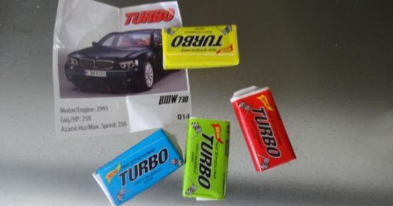 Biedronkowe Gumy Turbo