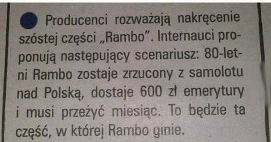 Rambo w Polsce!?