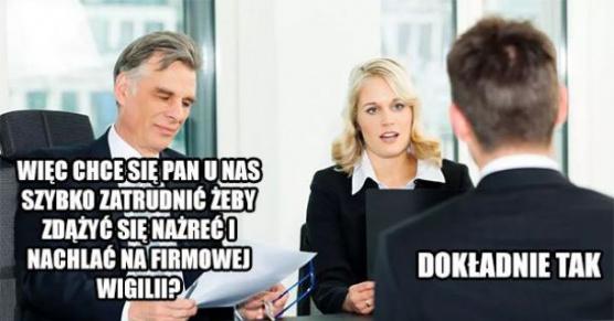 Dlaczego chce pan u nas pracować